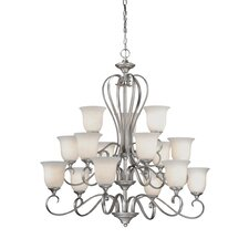 <strong>Vaxcel</strong> Riviera 15 Light Chandelier