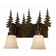 <strong>Vaxcel</strong> Yosemite 2 Light Vanity Light