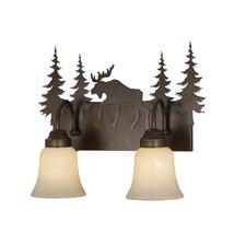 Yellowstone 2 Light Vanity Light