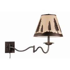 <strong>Vaxcel</strong> Yosemite Swing Arm Wall Sconce