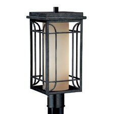 "Newport 1 Light 8"" Outdoor Post Lantern"
