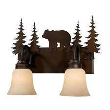 Bozeman 2 Light Vanity Light