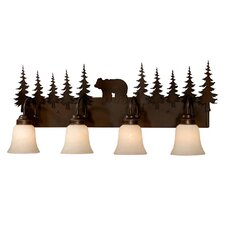 Bozeman 4 Light Vanity Light