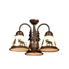 <strong>Vaxcel</strong> Yellowstone 3 Light Chandelier