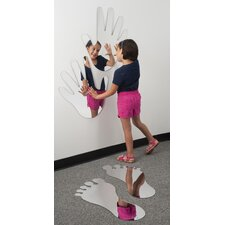 <strong>Whitney Brothers</strong> Big Feet Mirror Set