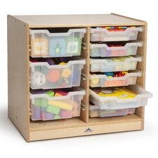 Double 9 Compartment Cubby