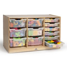 Triple 12 Compartment Cubby
