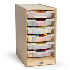Sinlge 6 Compartment Cubby