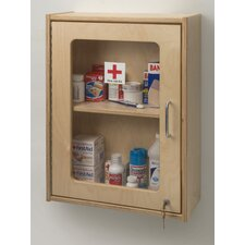 "17"" x 24"" Recessed Lockable Medicine Cabinet"