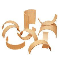 <strong>Whitney Brothers</strong> 20 Piece Bentwood Block Set