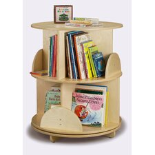 "<strong>Whitney Brothers</strong> 32"" H Two Shelf Book Carousel"