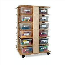 24 Compartment Cubby