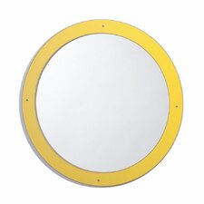 Framed Circle Mirror