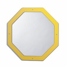 <strong>Whitney Brothers</strong> Framed Hexagon Mirror