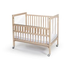Clear View Folding Rail Crib