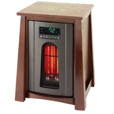 Lifelux 1500 Watt 110 Volt 15 Amp Revolutionary Infrared Electric Heater with Air Ionizer System