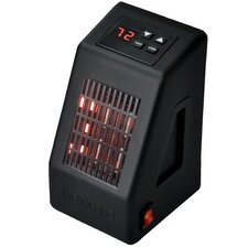 Life Pro Series 400 Watt Micro Electric Heater with Thermostat Digital Control