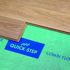 <strong>Quick-Step</strong> Combi Floor Underlayment Pad Green (100 sq. ft Roll)