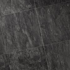 Quadra Natural Stone 8mm Laminate in Black Opal Slate