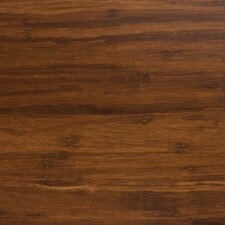 "Synergy Floating Floor 7-11/16"" Strand Bamboo Flooring in Java"