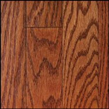 "St. Andrews 2-1/4"" Solid Oak Flooring in Merlot"