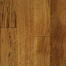 "<strong>Mullican Flooring</strong> Muirfield 4"" Solid Hickory Flooring in Saddle"