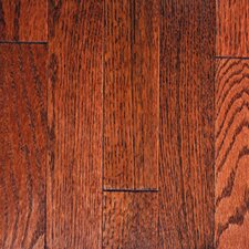 "<strong>Mullican Flooring</strong> Muirfield 2-1/4"" Solid Oak Flooring in Merlot"