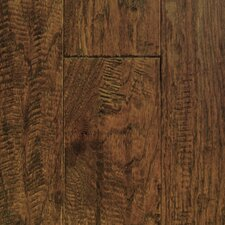 "Chalmette Hand Sculpted 5"" Engineered Hickory Flooring in Provincial"