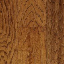 "Chalmette Hand Sculpted 5"" Engineered Hickory Flooring in Sunset Sand"