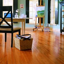 "Jacks Creek 5"" Solid Red Oak Flooring in Butterscotch"