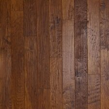 "Hickory Forge 5"" Engineered Hickory Flooring in Golden Ore"