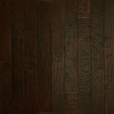 "Hickory Forge 5"" Engineered Hickory Flooring in Rushing Belows"