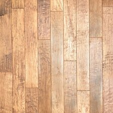 """Hickory Forge 5"""" Engineered Hickory Flooring in Natural/Chaps"""