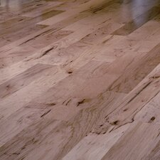 "Mountain Hickory Rustic 5"" Engineered Hickory Flooring in Natural"