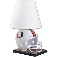 "Collegiate NCAA Deluxe Helmet 24"" H Table Lamp with Empire Shade"