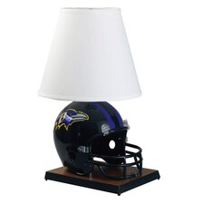 """NFL Deluxe Helmet  24"""" H Table Lamp with Empire Shade"""