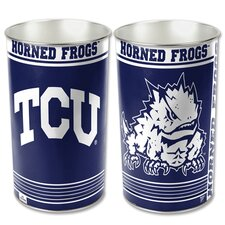 NCAA Tapered Wastebasket