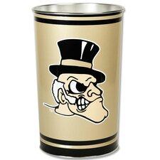 NCAA Tapered Wastebasket
