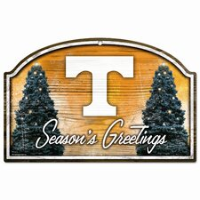NCAA Wood Sign - Ohio State University / Season's Greetings