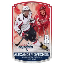 Washington Capitals Alexander Ovechkin Wood Sign