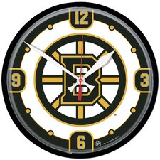 "NHL 12.75"" Wall Clock"