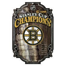 NHL Graphic Art Plaque