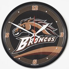 "<strong>Wincraft, Inc.</strong> 12.75"" Western Michigan Broncos Wall Clock"