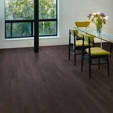 "Riverside 3"" Engineered Red Oak Flooring in Burnt Umber"