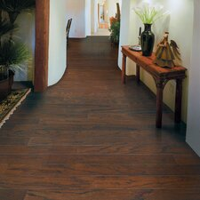 "Rialto Plank 4-1/2"" Engineered Red Oak Flooring in Ember"