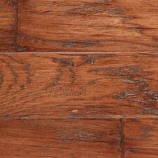 <strong>LM Flooring</strong> SAMPLE - Gevaldo Engineered Hickory in Tobacco Hand Scraped