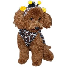 Giraffe Dog Costume
