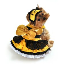 Honey Bee Dog Costume
