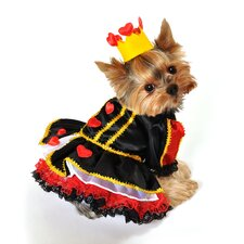 Royal Queen of Heart Dog Costume