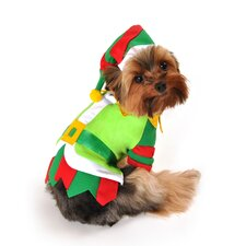 Santa's Lil' Helper Dog Costume